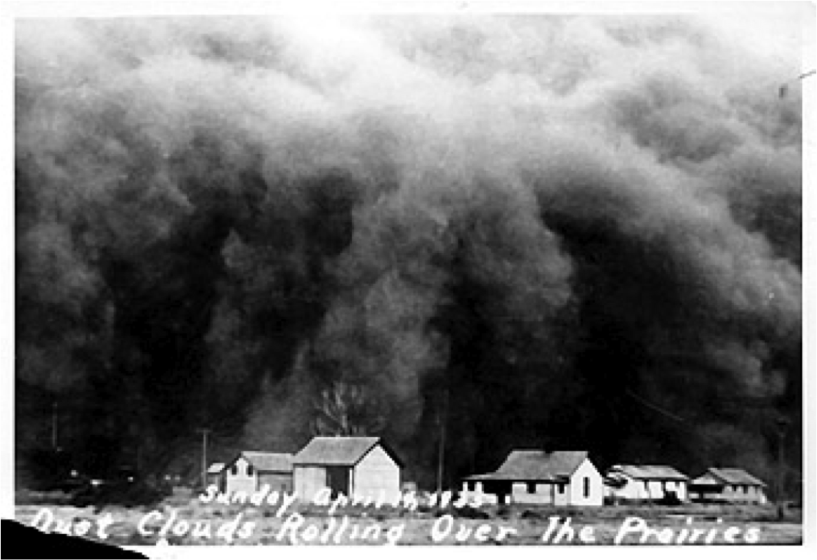 a review of the dust bowl incident in texas
