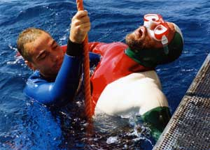 Diving Accidents Part Caustic Soda
