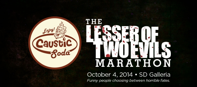 Because you demanded it: Caustic Soda is at Northwest Podcast Fest!