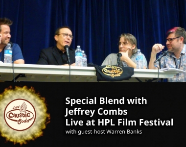 Special Blend with Jeffrey Combs Live at HPL Film Festival